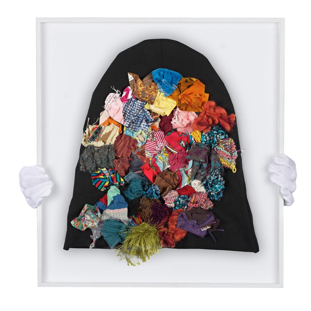 aus der Serie Burka, Flowers von Eren Hakan
