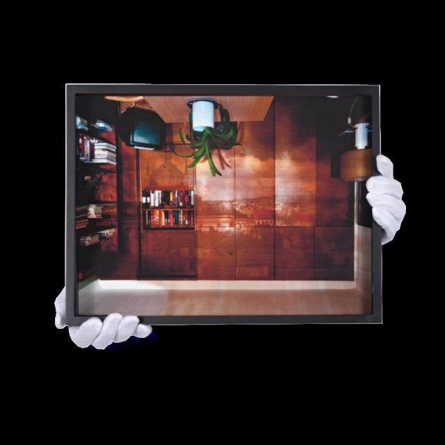 ohne Titel (Wohnzimmer) von Bärbel Möllmann